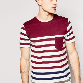 Jack & Jones Breton Stripe T-Shirt