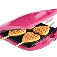 Babycakes Nonstick Waffle Maker Makes 4 Heart Waffles on Sticks: Amazon.com: Kitchen & Dining