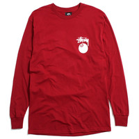 8 Ball Longsleeve T-Shirt Dark Red