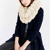 Nordic Chunky Snood Scarf- Ivory One