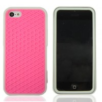 FiveBox Sneaker Shoe Tread Case Skin Cover For Apple Iphone 5/5S (not for iphone 5C) - Pink