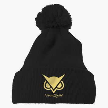Vanoss Limited  Embroidered Knit Pom Cap