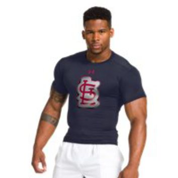 Under Armour Mens St. Louis Cardinals UA Compression T-Shirt