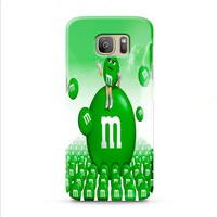 M&M's Green Candy Samsung Galaxy J7 2015 | J7 2016 | J7 2017 case