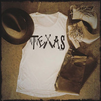 Tribal Texas Muscle Tank