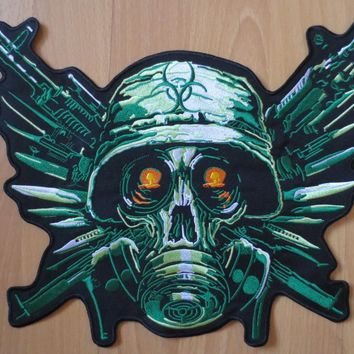 13 inches resident Evil large Embroidery Patches for Jacket Motorcycle Biker 33cm * 27cm