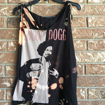 Snoop Dogg  size Large cut tank top shirt unisex