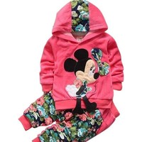 Minnie Mouse Bow Clothing Set