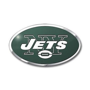 Licensed Official NFL New York Jets Premium Vinyl Decal / Sticker / Emblem - Pick Your Pack