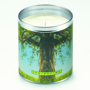 Springtime Tree Candle