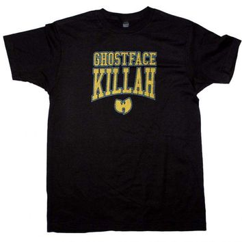 Wu Tang Clan Ghost Face Killer Logo T-Shirt