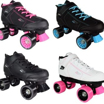 Pacer GTX-500 New Style Speed Profile Boot Roller Skates Pair 2017 Size 5-11 NEW