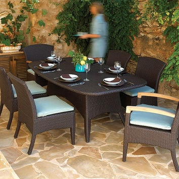 2017 New Design all weather pe rattan modern cheap cafe style furniture coffee shop tables and chairs