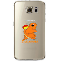 Pokemon Charmander Jelly Clear Case for Samsung Galaxy S7
