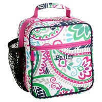 Gear-Up Preppy Surf Paisley Classic Lunch With Mesh Side Pocket