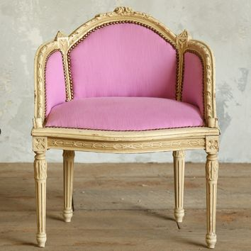 One of a Kind Vintage Banquette Cream Candy