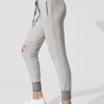Warm Up Sweatpants in Heather Grey