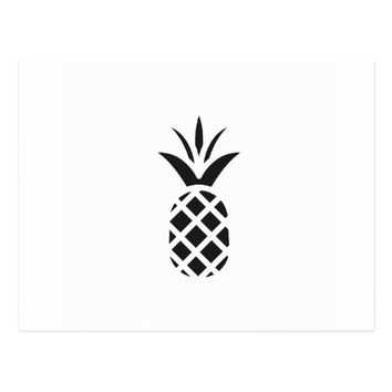 Black Pine Apple Postcard