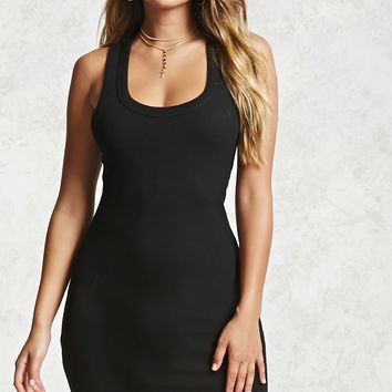Thermal Knit Tank Dress