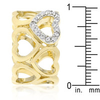 Hearts For Eternity Ring, size : 07