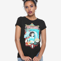 Her Universe Studio Ghibli Spirited Away Poster Girls T-Shirt