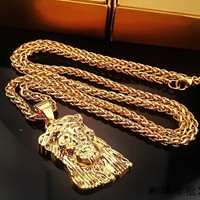 Gift Jewelry Stylish New Arrival Shiny Hip-hop Accessory Necklace (With Thanksgiving&Christmas Gift Box)[6542731331]