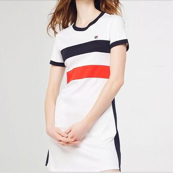 wanelu:FILA: Fashion casual lady dress