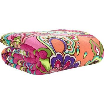 Vera Bradley Throw Blanket (Pink Swirls)