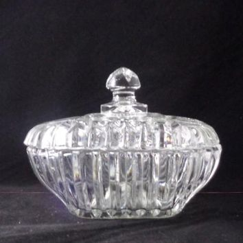 Square Candy Dish With Lid