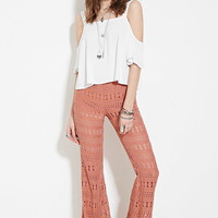 Crochet Flared Pants