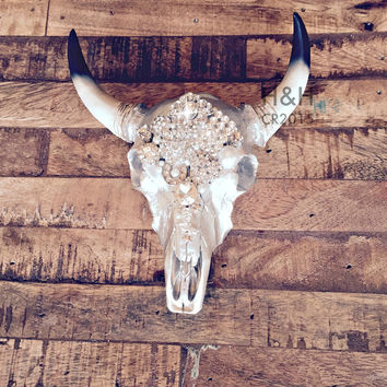 Bull Skull Wall Decor best cow skull wall decor products on wanelo