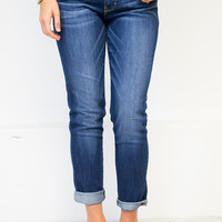 Ridge Blue Boyfriend Jeans | Flying Monkey