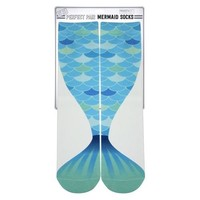 Mermaid Tail Big Kid Socks | Ages 7-10