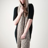 The Llanpu | Hooded Alpaca Scarf
