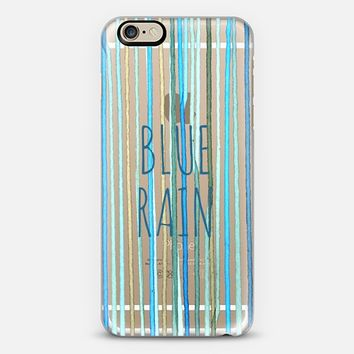 Blue Rain #1 iPhone 6 case by sy.hong | Casetify