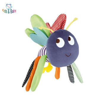 Butterfly Baby Toys 0-12 Months Plush Mamas Papas Doll Baby Rattle Kids Mobile Hanging Bed Bell Car Stoller Brinquedos Bebes