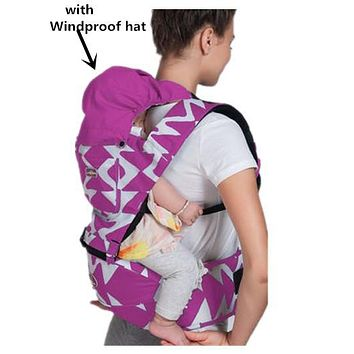 Promotion! Baby Carrier Cotton Infant Backpack Kids Baby Carriage Toddler Sling Wrap Suspenders