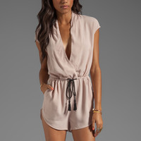Finders Keepers New Baxter Playsuit in Shell