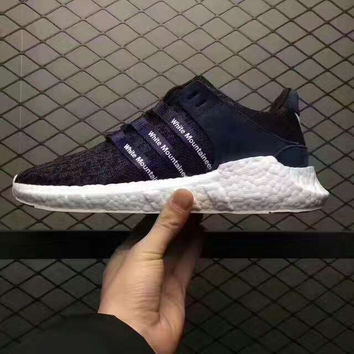 "Fashion ""Adidas"" Equipment EQT Support ADV Casual Sports Shoes Navy blue"