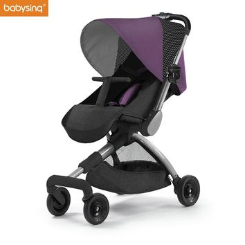 Babysing H-GO High Landscape Lightweight and Foldable Stroller Baby Pram Kids Pushchair Travel stroller on the Airplane