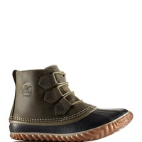 Sorel Out N About Leather Rain Booties