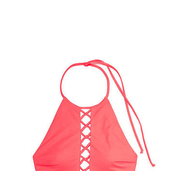 High Neck Crop - PINK - Victoria's Secret
