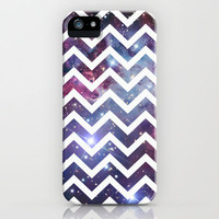 Nebula Chevron iPhone Case by RexLambo | Society6