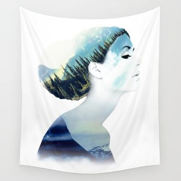 Women Wall Tapestry by RIZA PEKER