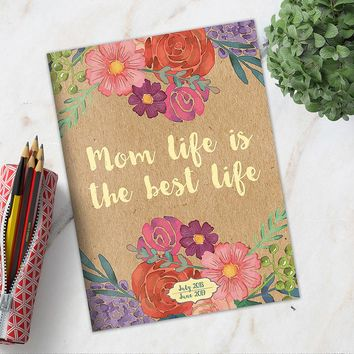 Mom Life Floral Planner