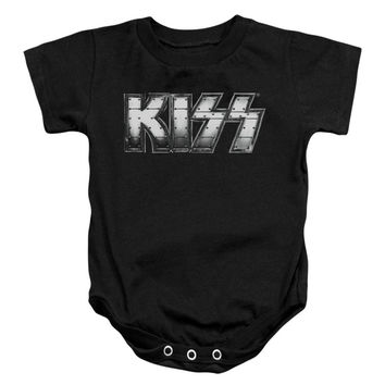 KISS Boys' Heavy Metal Bodysuit Black Rockabilia