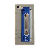 Phone Cases for iPhone 5 5S case Cover Soft Silicon Vintage Tape Cassette mobile phone bags & cases Brand New Arrive