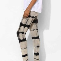 Staring At Stars Tie-Dye Stripe Legging- Black Multi One