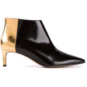 Marni metallic panel ankle boot