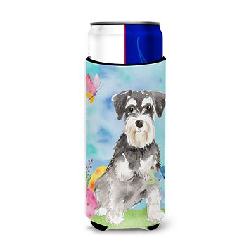 Easter Eggs Schnauzer #2 Michelob Ultra Hugger for slim cans CK1907MUK